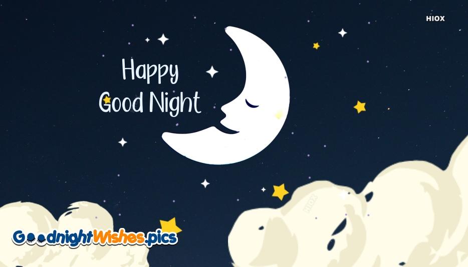 Good Night Half Moon Images