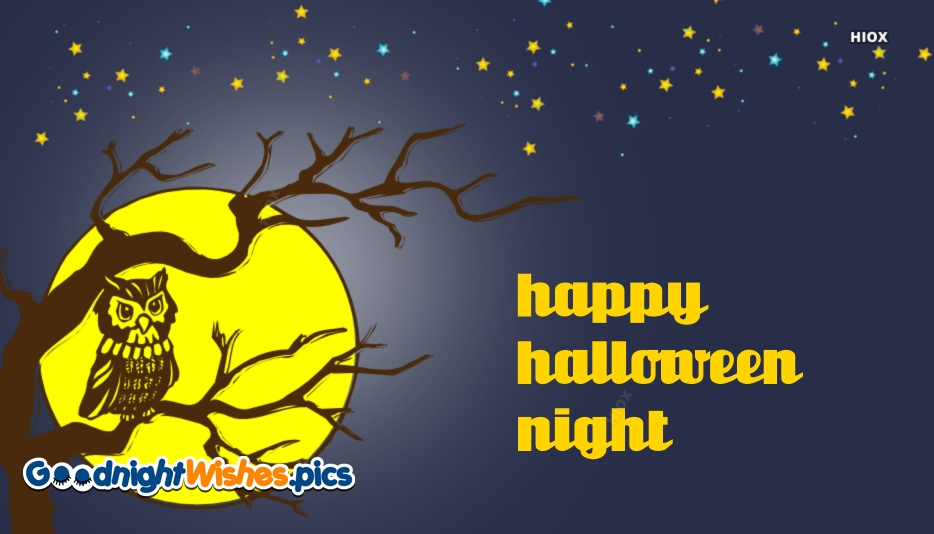 Good Night Halloween Images, Quotes