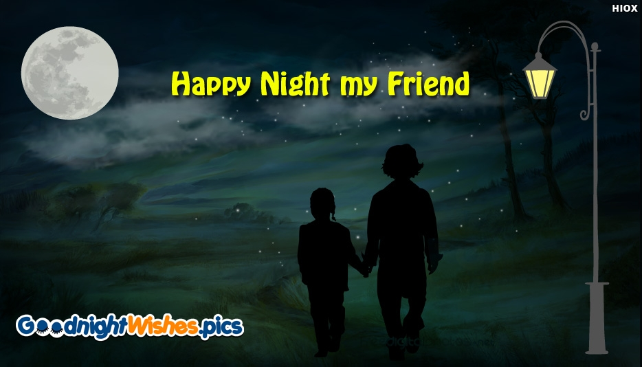 Good Night Friend Images | Good Night Wishes for Friend