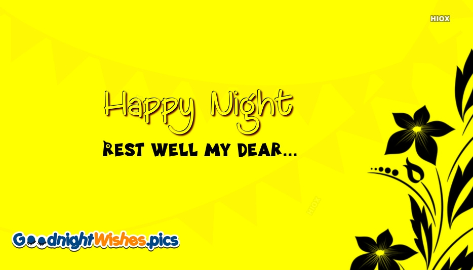 Happy Night Rest Images