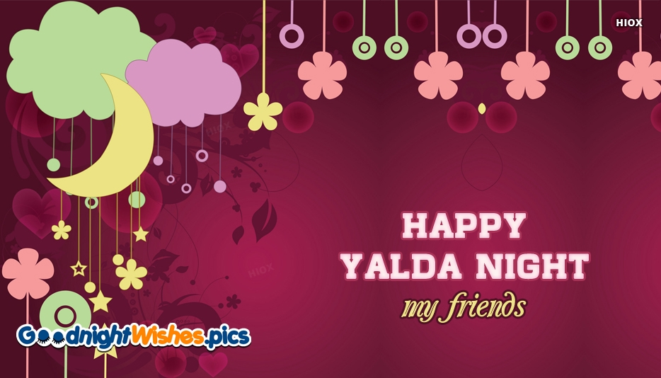 Happy Yalda Night My Friends