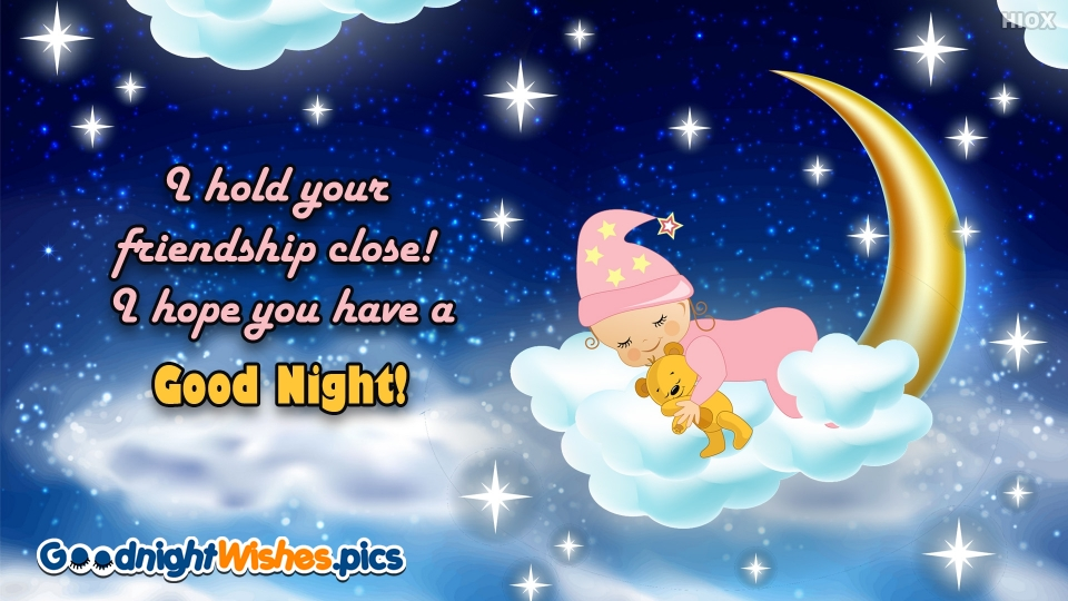 Good Night Wishes for Hope