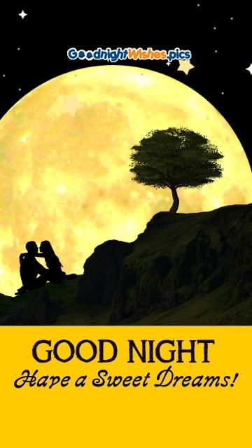 Love Romantic Good Night Wishes