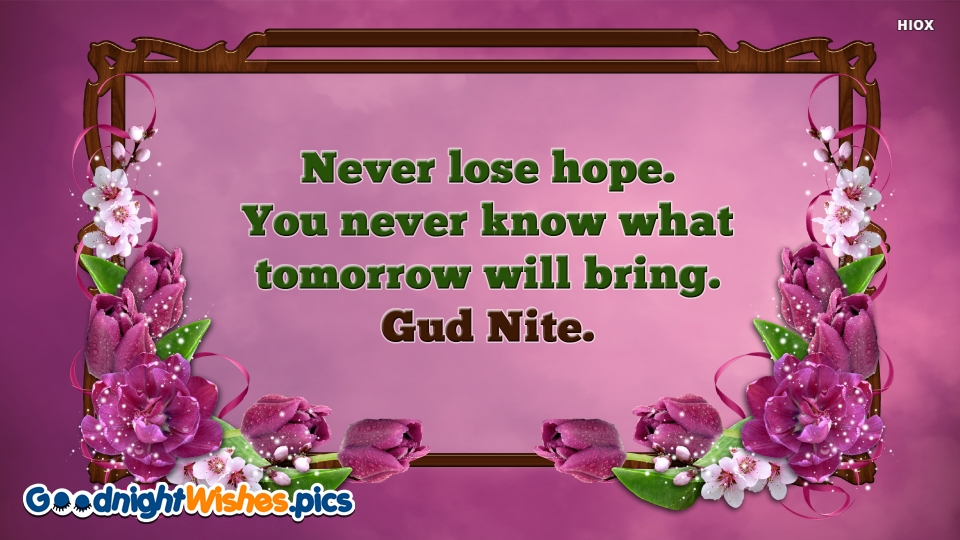 Good Night Wishes for Gud Nite