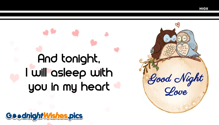 Night Love Quote For Him