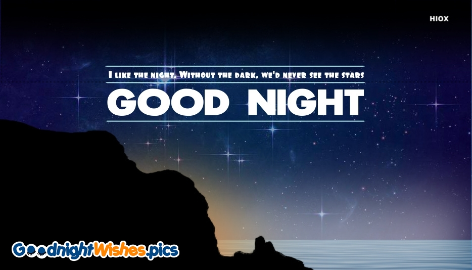 Quote Of Good Night Wishes