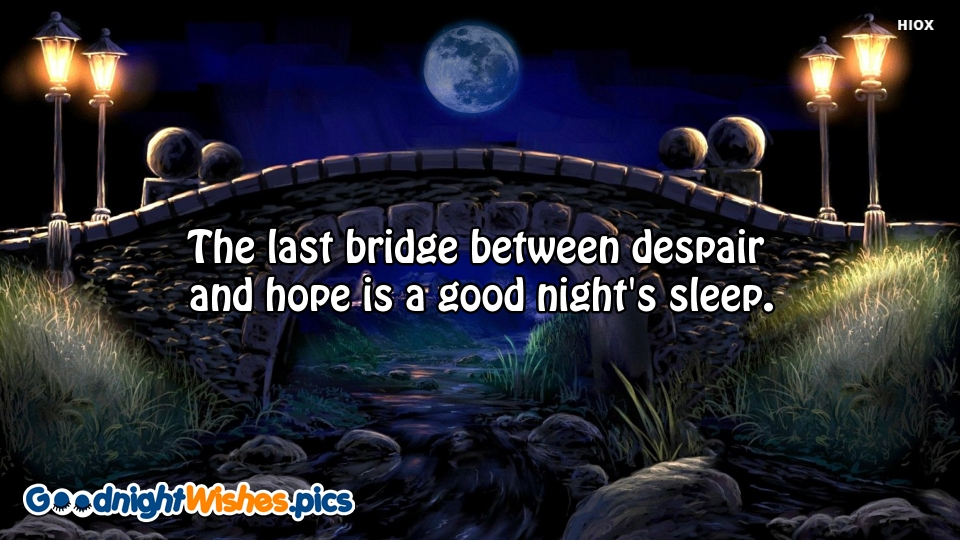 Good Night Wishes for Sleep Quotes