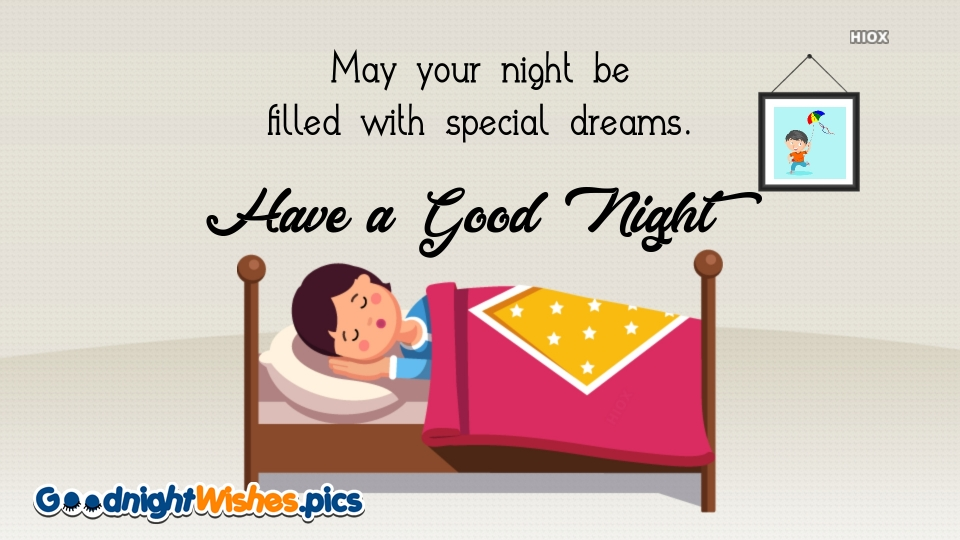 Special Good Night Wishes