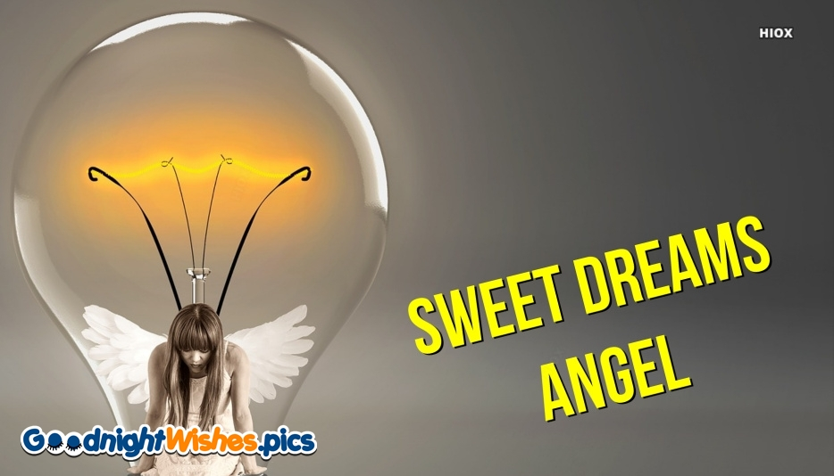 Sweet Dreams Angel Greetings Image