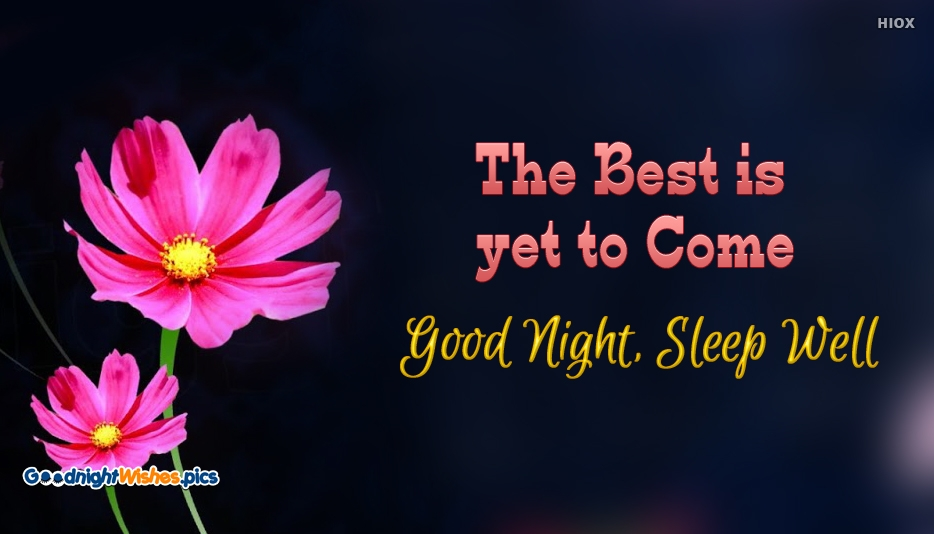 Good Night Inspirational Quotes