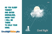 Good Night Wishes With Quote | Like A Night Without A Star Light