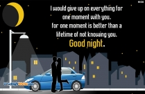Sweet Good Night SMS