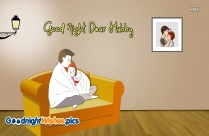 Best Good Night Wish For Husband