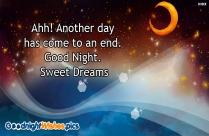 Good Night Sweet Dreams Gif
