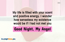 Emotional Good Night Wishes
