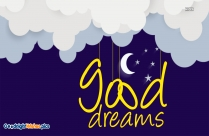 Good Dreams Message Lovely Pic