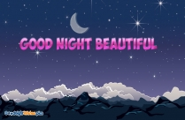 Good Night Beautiful