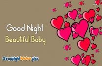 Good Night Beautiful Love Images