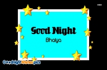 Good Night Wishes For Brother