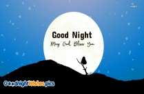 Good Night Wishes With Stars
