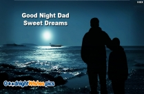 Good Night Dad Sweet Dreams