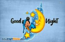 Good Night Cartoon Photo