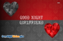 Good Night Sweet Dreams Girlfriend