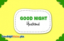 Good Night Husband