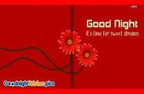 Good Night Sweet Dreams Colorful