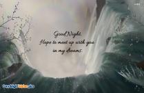 Good Night My Love!
