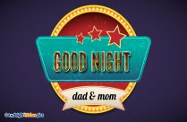 Good Night Mom And Dad