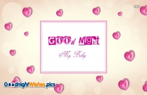 Good Night My Baby Images