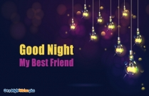 Good Night My All Sweet Friends