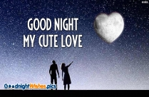Good Night My Cute Love