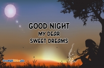 Good Night My Dear Sweet Dreams
