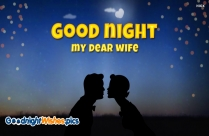 Good Night Wishes To Wife