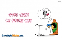 You Are The Love Of My Life. Good Night