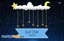 Good Night My God Image
