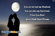 Good Night My Husband Wallpaper