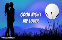 Good Night My Lover