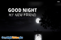 Good Night My New Friend