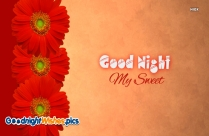 Good Night My Sweet