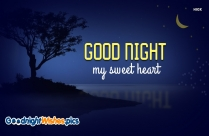 Good Night My Sweet Heart Hd