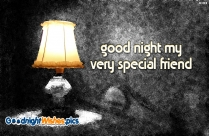 Good Night My Very Special Friend