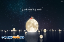 Good Night Wishes To My Love