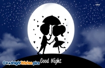Good Night Greeting Romantic