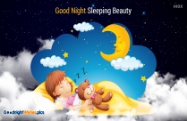 Good Night Sleeping Image