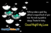 Love Good Night Sms