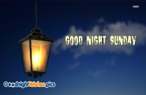 Good Night Sunday Images Hd