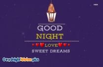 Good Night Sweet Dreams Blue